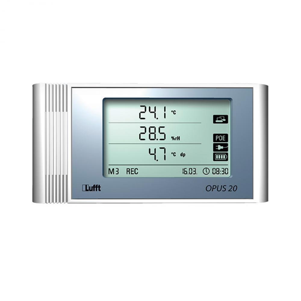 LAN data logger Opus20 THI - measuring temperature / humidity