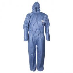 Kleenguard Overall A50 - Atmungsaktiver Schutzanzug mit Kapuze - blau - S bis 3XL