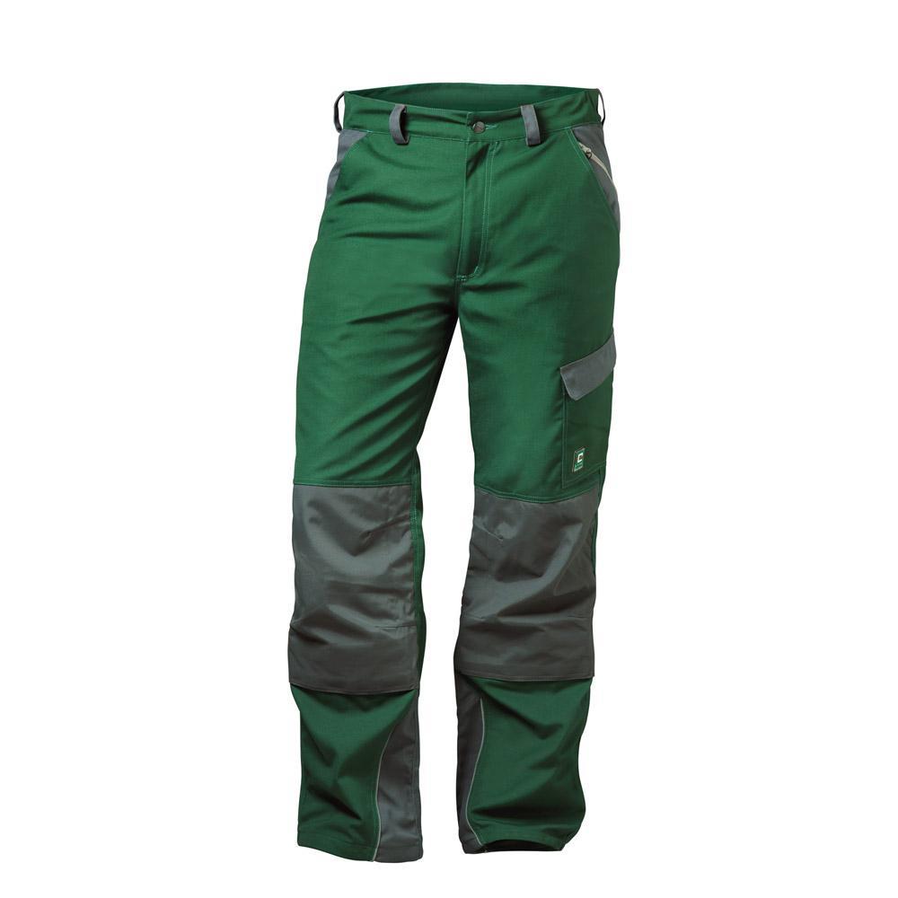 Arbeits-Bundhose Canvas - elysee® - 35/65% MG - grün/grau