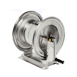 Schlauchaufroller HM 710 - Edelstahl - für Hochdruck bis 100 bar