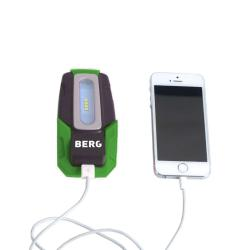 BCL kieszonkowy LED 4 + USB akumulator latarkę - 2W - IP 44 - chłodny biały