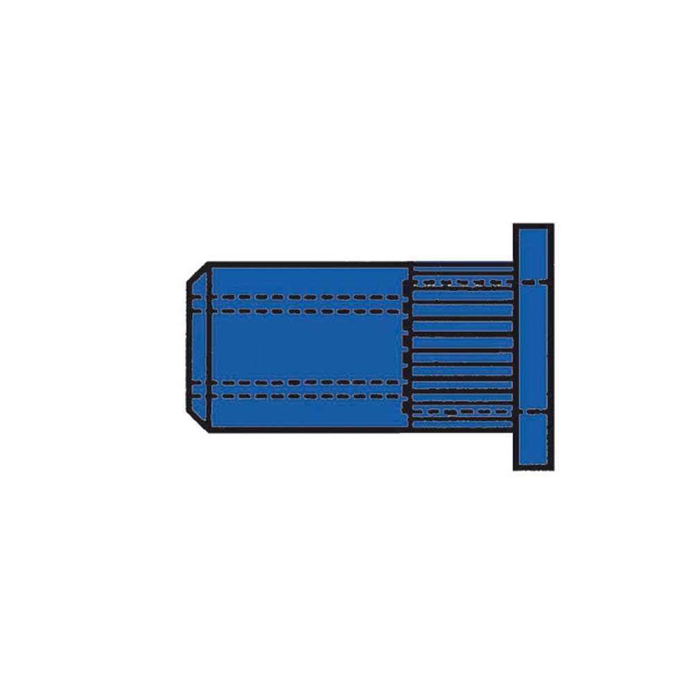 CAP® Blindnietmuttern GESIPA® - Stahl - Standard Flachrundkopf - geschlossen - Preis per VE