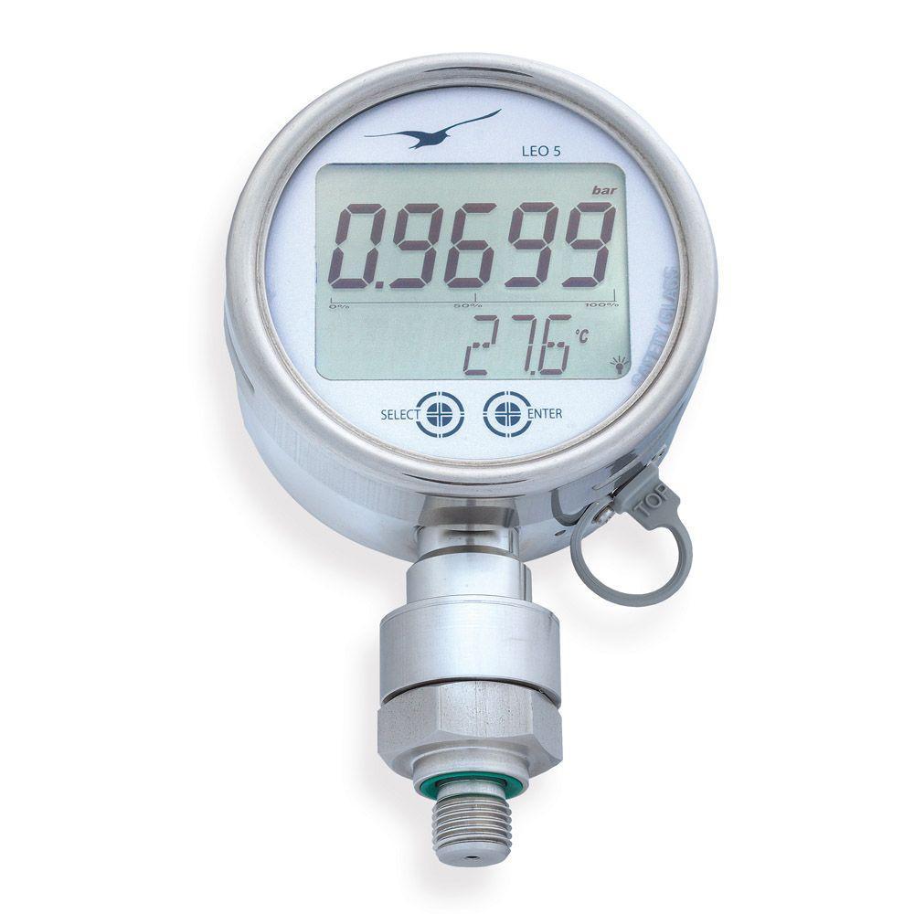 Digitalt manometer LEO5 - Nøyaktighet 0,05% - Måleområde opptil 1000 bar