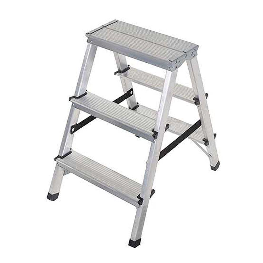 Doppelstufenleiter - Aluminium - 2x3 bis 2x8 Stufen