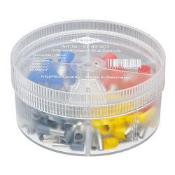 Knipex Aderendhülsen-Sortimentbox - isoliert - Kabel 4 bis 16 mm² - 100 Stück