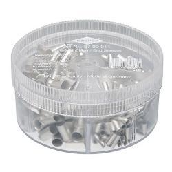 Knipex Aderendhülsen-Sortimentbox - unisoliert - Kabel 4,00 bis 16,00 mm² - 350 Stück