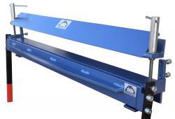 Abkantbank für Schraubstock- und Tischmontage - hochaufgehende Oberwange - Standard-Profi - 1000 mm Arbeitsbreite - Bleche bis 1,0 mm
