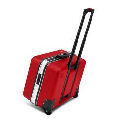 """Werkzeugkoffer """"BIG Twin Move RED"""" Elektro Kompetenz - leer - bis 25 kg"""