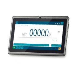 Tablet KTA-T - multifunktional - zum Anschließen an digitale Plattformen, Waagen, Messzellen