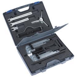 KRALLEX Universal-Abzieher - EASY-FIX Set - Spannweite 25 bis 130 mm - 13-teilig