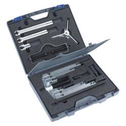 KRALLEX Universal-Abzieher-Set - Spannweite 25 bis 130 mm - 13-teilig