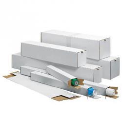 Falthülsen - 4-eckig - weiß - versch. Größen - 20 Stück