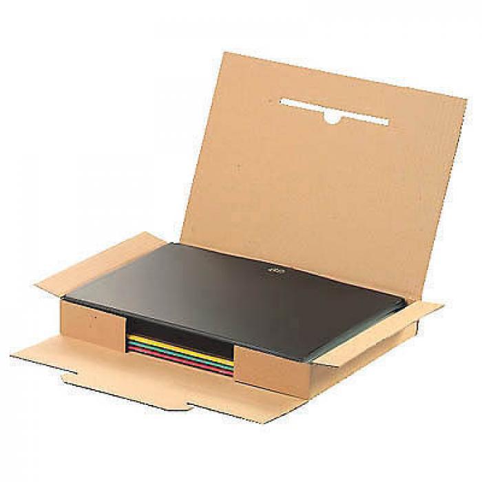 Kartong - brun - 20 st - stora brev eller maxibrev