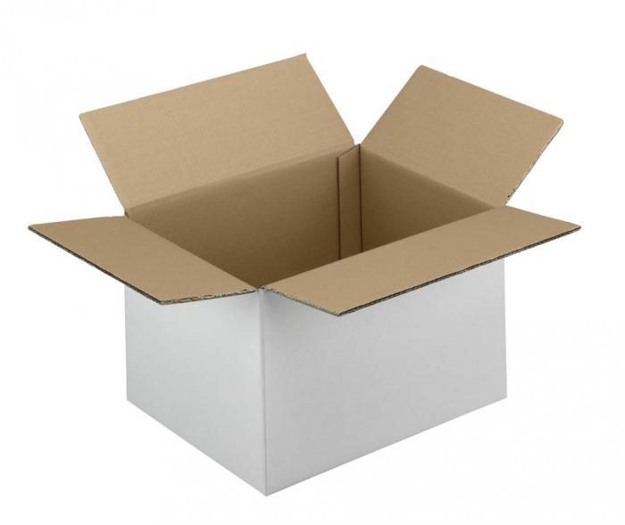 Kartong - 2-vågig - wellpapp - upp till 30 kg - 20 st/förpackning