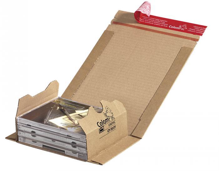Paketkartonger - ColomPac® - 20 stycken - olika storlekar