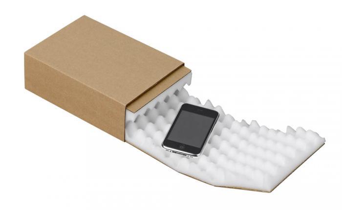 Skumplastförpackning - L BOX - olika storlekar