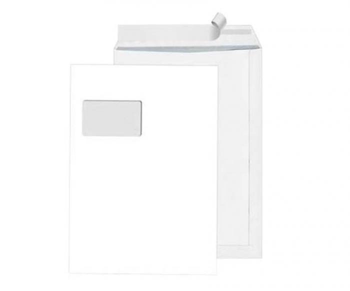 Versandtaschen - C4 - weiß - 250 Stück - mit|ohne Fenster