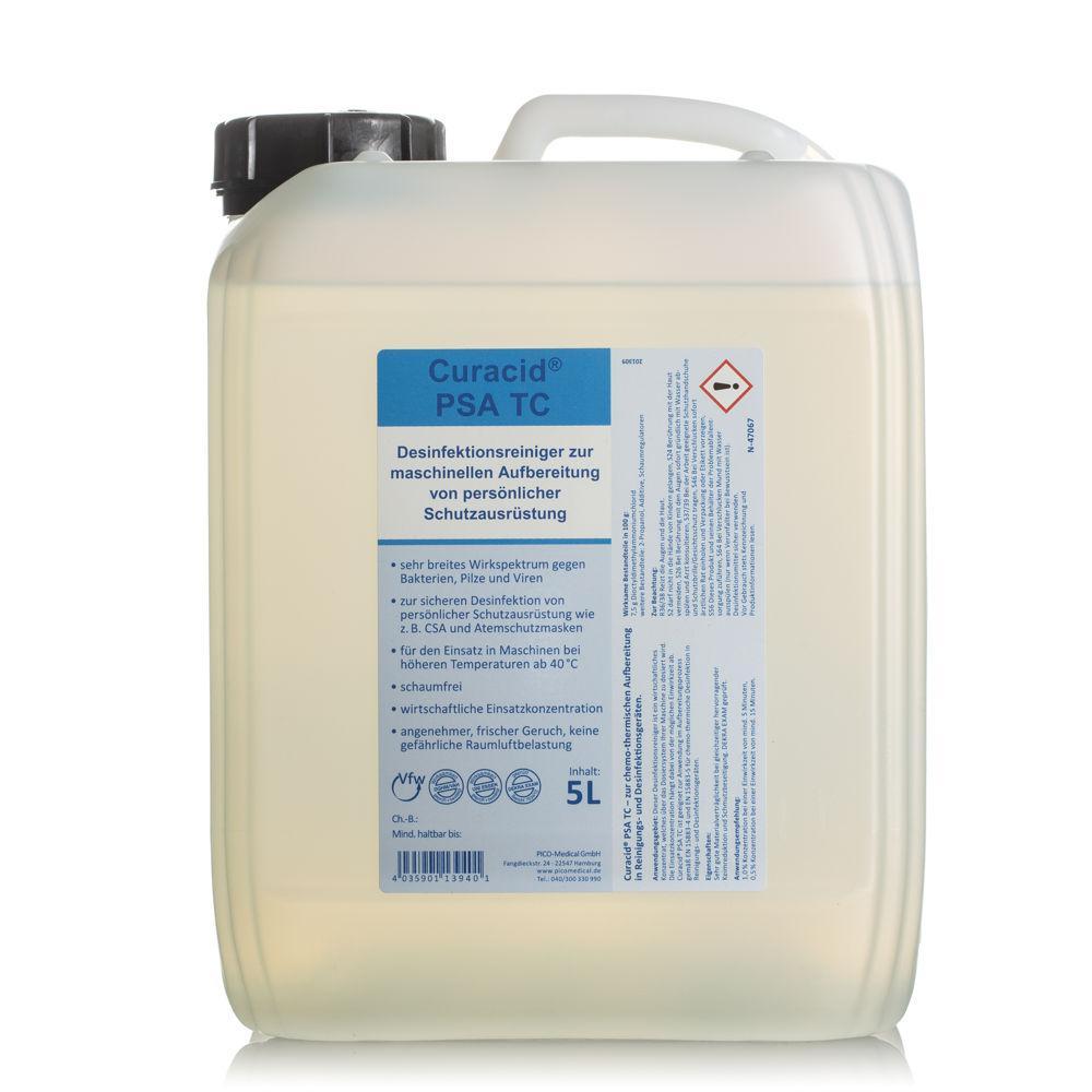 Desinfektionsreiniger - Curacid® PSA TC - für Atemschutzmasken und sonstige PSA