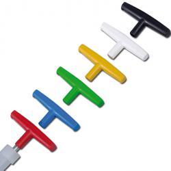Set Handgriffe für ViscoSampler - versch. Farben