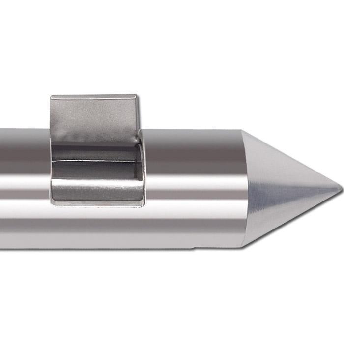 Scratcher - Edelstahl - Außen-Ø 25 mm mit Schrürfkante
