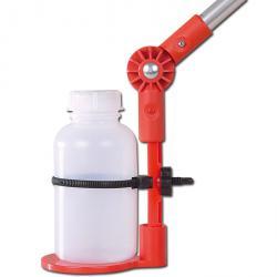 Flaskhållare - PP / PA - 750ml - justerbar upp till 90°