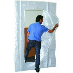 Zipper door C - door HxW 2.2 x 1.5 m - for dust protection walls