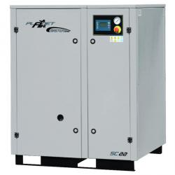 Skruvkompressor - 8-15 bar - 2500-3500 l / min - 22 KW - MASTER LINE