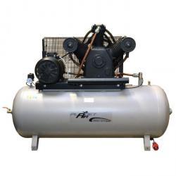 Kolbenkompressor - 10 bar - 660 l/min - ölfrei - Grauguss-Verdichter - MASTER-LINE