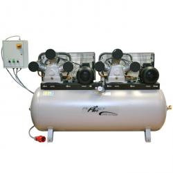 Kolbenkompressor - 10 bar - 1450 l/min - Grauguss-Verdichter - MASTER-LINE