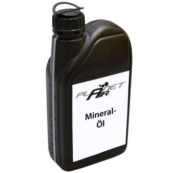 Mineral oil for piston compressors - 1-20 liters - PLANET-AIR