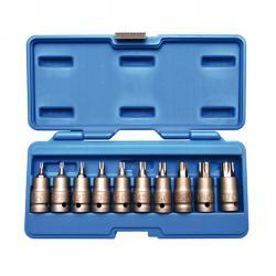 Kraft-T-Profil-Biteinsätze - T20-T70 - 10 tlg.
