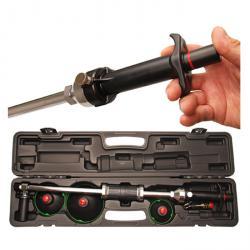 Vakuum-Ausbeulsatz mit Gleithammer und Handpumpe