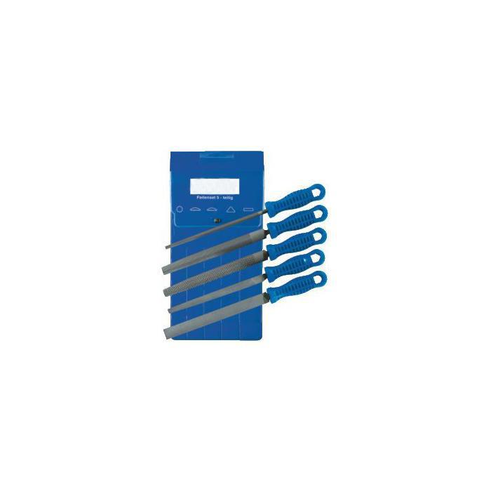 Werkstattfeilen-Satz - 5-teilig - Hieb 2 - Länge 326 und 386mm