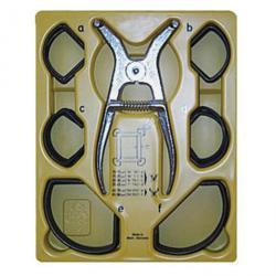 Gehrungs-Spannklammer-Ersatzpaket - Grösse A bis F