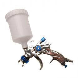 Druckluft-Farbsprühpistole - max. 6 bar - Lackbehälter 550 ccm - mit Filter