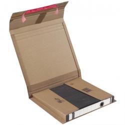 Paketkartonger ColomPac® - limremsa - för pärmar - 20 st.