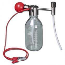 L medium pump Mini - rostfritt stål / PTFE - 1,8 l / min - för 1 till 5 l behållare
