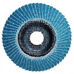 Fächerscheibe Inox 125mm - Korn 40 - 10 Stück