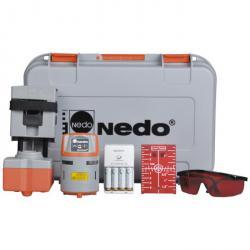 """Nedo 360°-Multilinienlaser """"QUASAR4"""" - Simplix-Set - inkl. Multifunktionshalterung Simplix"""