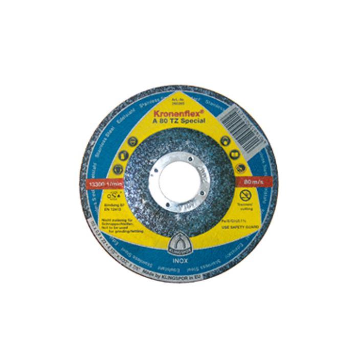 Trennscheibe - Härte hart - für dünnwandige Profile und Rohre aus Edelstahl - VE 25 Stück