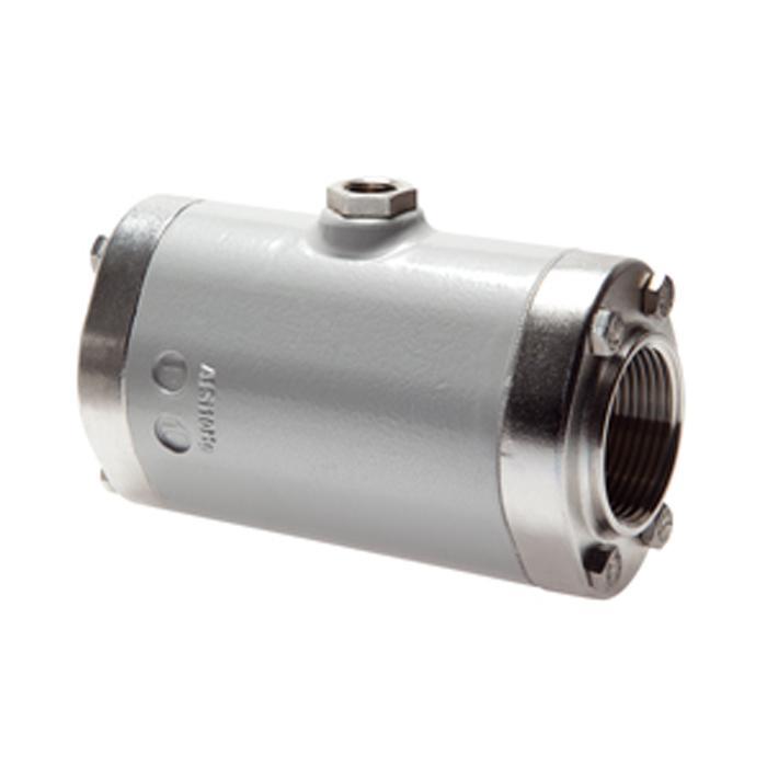 Pneumatische Quetschventile mit Innengewinde (Ruhestellung geöffnet) - PN 6 - Aluminium