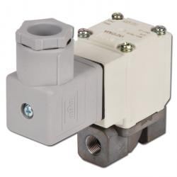 "2/2-way solenoid valve G1 / 8 ""to G3 / 8"" - up to 10 bar - normally closed - Stainless steel case"
