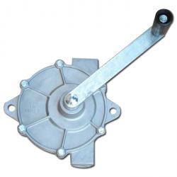 Full rotary pump Plinio - max. 15 l / min - connection ¾ x 1 inch - die-cast aluminum