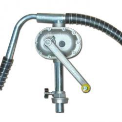 Handkurbel-Rotationspumpe JP-12 - Alu/verzinkter Stahl - 1 l/Umdrehung -  für nicht brennbare Medien