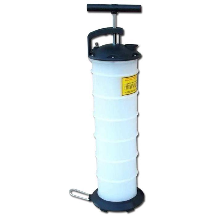 Pompa a vuoto manuale - plastica - max. 15 l / min - per estrarre l'olio