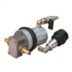 Rotary gear pump - Roto Binda - brass or stainless steel - Ø 3/8 ""