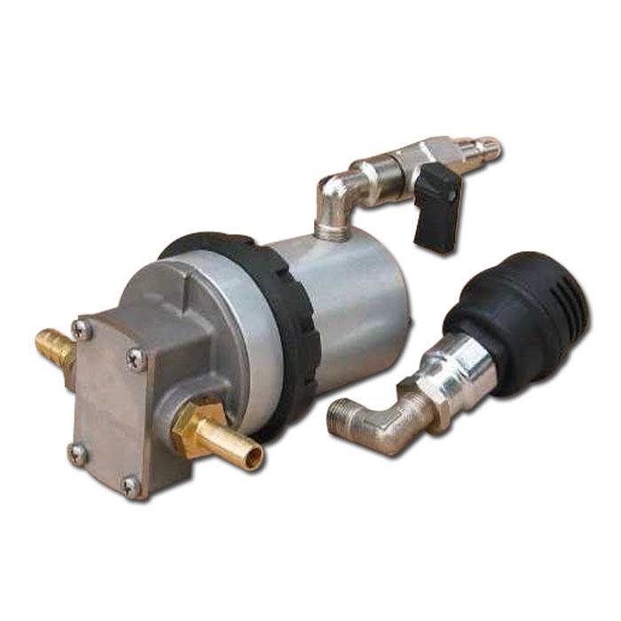 Pompa ad ingranaggi Binda Rotopump - bronzo / acciaio inossidabile - attacco 3/8 pollici - max. 10,5 l / min - max. 4 bar