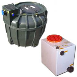 Sewage pumping station - binda - for 60-1500 liter