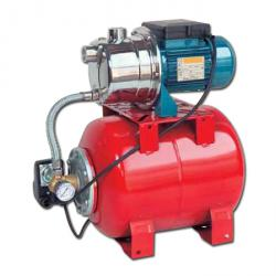 Self-priming pump - Hydra Pack Binda - with tank, pressure switch and measuring device - 50 l / min - 230 V - stainless steel