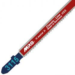Stichsägeblätter - 110/132 - Hochleistungs-Schnellstahl - für Metall